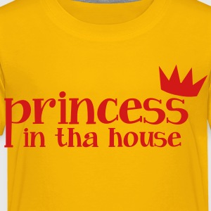 princess in tha house Kids' Shirts - Toddler Premium T-Shirt