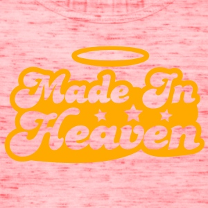 MADE IN HEAVEN design with halo cute! T-Shirts - Women's Flowy Tank Top by Bella