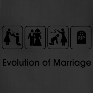 Evolution of Marriage T-Shirts - Adjustable Apron