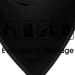Evolution of Marriage T-Shirts - Bandana