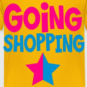going shopping with a dual star Kids' Shirts - Toddler Premium T-Shirt