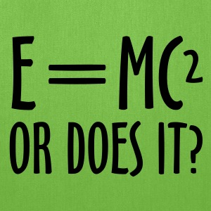 E=MC² - Tote Bag