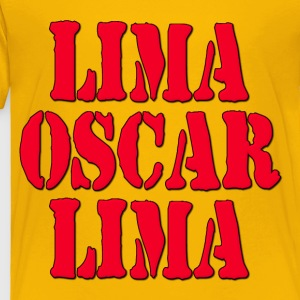 LOL Lima Oscar Lima Laugh Out Loud Kids' Shirts - Toddler Premium T-Shirt