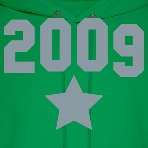 2009 silver star T-Shirts - Men's Hoodie