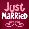 JUST MARRIED great shirt for newlyweds T-Shirts - Men's T-Shirt