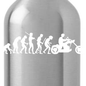 Motorcycle Rider Evolution Chopper Cruiser - Water Bottle