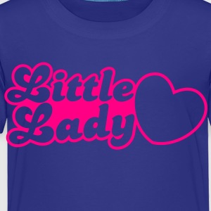 little lady with love heart Kids' Shirts - Toddler Premium T-Shirt