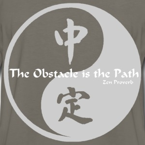 Yin Yang – The Obstacle  - Men's Premium Long Sleeve T-Shirt