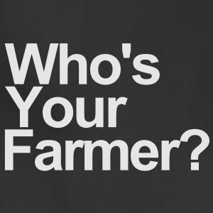 Who's your farmer? - Adjustable Apron