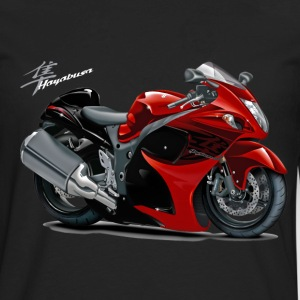 Suzuki Hayabusa Red Bike T-Shirts - Men's Premium Long Sleeve T-Shirt