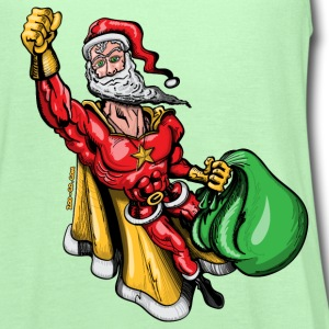 Super Santa Claus T-Shirts - Women's Flowy Tank Top by Bella