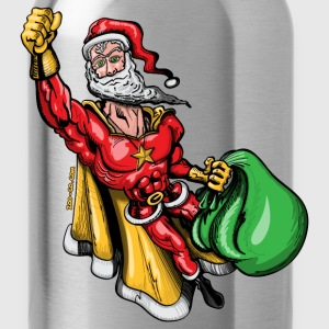 Super Santa Claus T-Shirts - Water Bottle