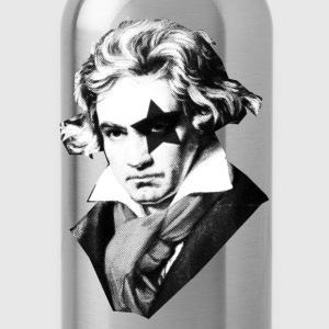 Beethoven rock Kiss Black Metal T-Shirts - Water Bottle