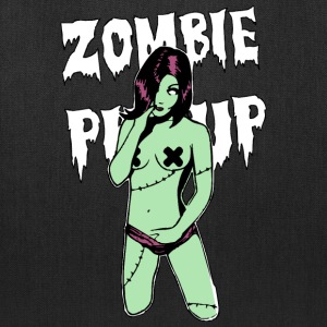 Sexy Zombie Pin Up T-Shirts - Tote Bag
