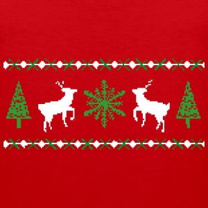 Ugly Christmas Sweater T-Shirt - Men's Premium Tank