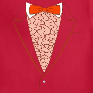 Tuxedo T Shirt Deluxe Orange - Adjustable Apron