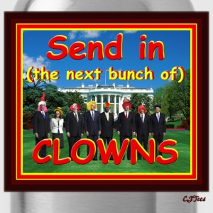 Send In (The Rest Of The) CLOWNS - Water Bottle