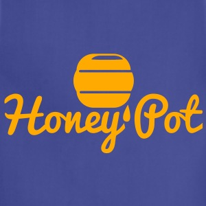 honey pot with honey bee hive T-Shirts - Adjustable Apron
