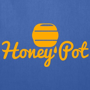 honey pot with honey bee hive T-Shirts - Tote Bag
