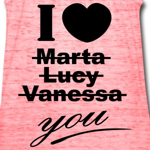I love you valentine valentine´s day T-Shirts - Women's Flowy Tank Top by Bella