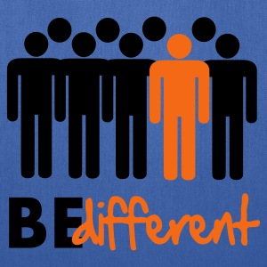 Be different Vector Design Kids' Shirts - Tote Bag