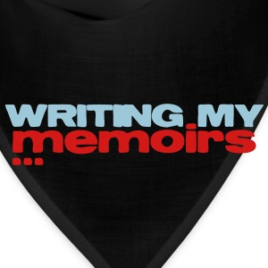 writing my memoirs Kids' Shirts - Bandana
