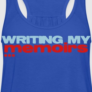 writing my memoirs Kids' Shirts - Women's Flowy Tank Top by Bella
