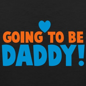 GOING TO BE DADDY! with love heart good for parents! T-Shirts - Men's Premium Tank