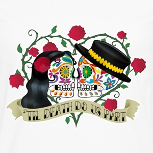 Wedding, Couples, Love, Death, Valentine's Day - Men's Premium Long Sleeve T-Shirt