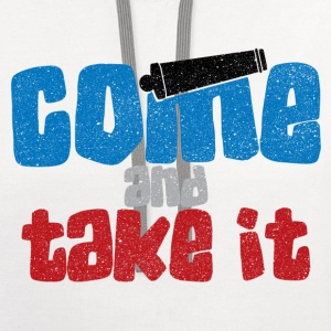 COME AND TAKE IT - Contrast Hoodie