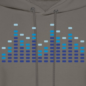 Music Equalizer Men's T-shirts - Men's Hoodie
