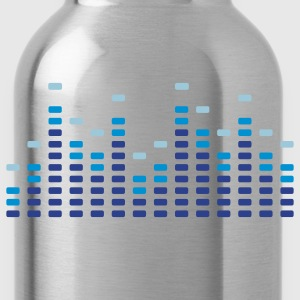 Music Equalizer Men's T-shirts - Water Bottle
