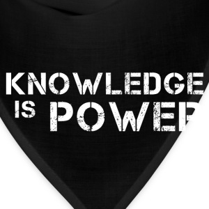 Knowledge Is Power T-Shirts - Bandana