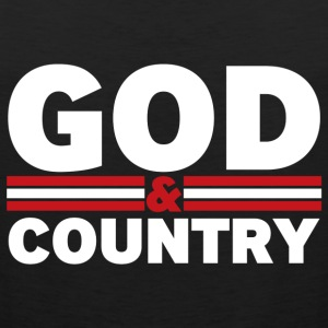 God and Country - Men's Premium Tank