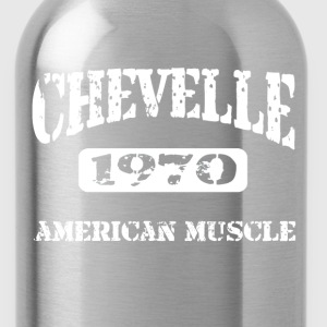 1970 Chevelle American Muscle T-Shirts - Water Bottle