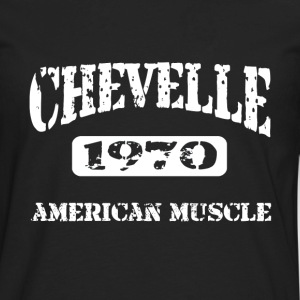 1970 Chevelle American Muscle T-Shirts - Men's Premium Long Sleeve T-Shirt