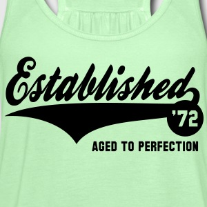 Established 72 - Birthday T-Shirt YG - Women's Flowy Tank Top by Bella
