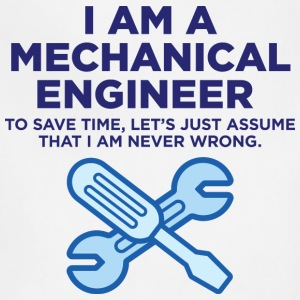 I Am A Mechanical Engineer 3 (dd)++ T-Shirts - Adjustable Apron