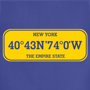 new_york_licence_plate T-Shirts - Adjustable Apron