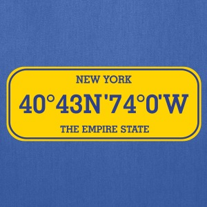 new_york_licence_plate T-Shirts - Tote Bag