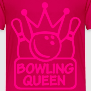 Bowling Queen Kids' Shirts - Toddler Premium T-Shirt