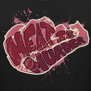 Meat is Murder - Men's Premium Tank