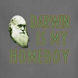 Darwin is my Homeboy - Adjustable Apron