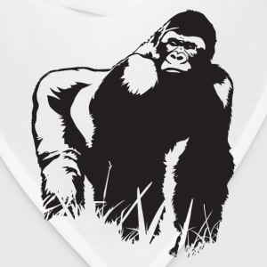 King Gorilla HD Design T-Shirts - Bandana