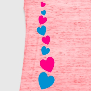 love heart line going down lovely! T-Shirts - Women's Flowy Tank Top by Bella