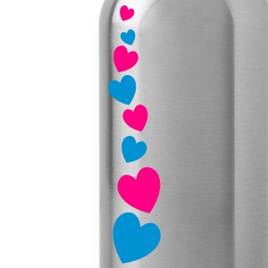 love heart line going down lovely! T-Shirts - Water Bottle