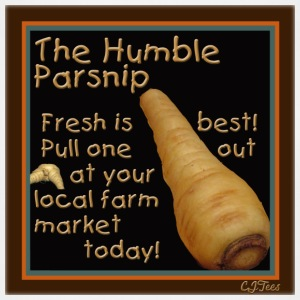 The Humble Parsnip. Be Fresh, Pull One Out Today! - Adjustable Apron