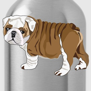 Bulldog Puppy - Water Bottle