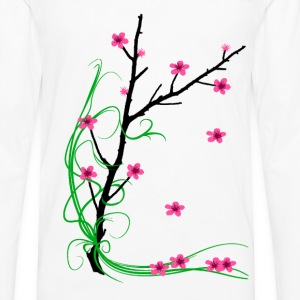 Cherry Blossom Tree - Men's Premium Long Sleeve T-Shirt