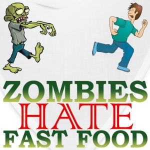 zombie hate fast food - Bandana